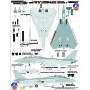 48087 F-14A/B/D Tamiya & AMK Tomcat Data and Weapons