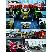 48088 USN CVN Deck Crew and Vehicles